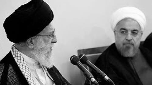 آخوند روحانی - خامنهای ولیفقیه ارتجاع