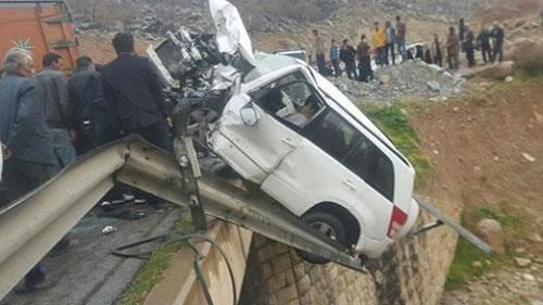 ایران رتبه اول مرگبارترین حوادث جادهیی