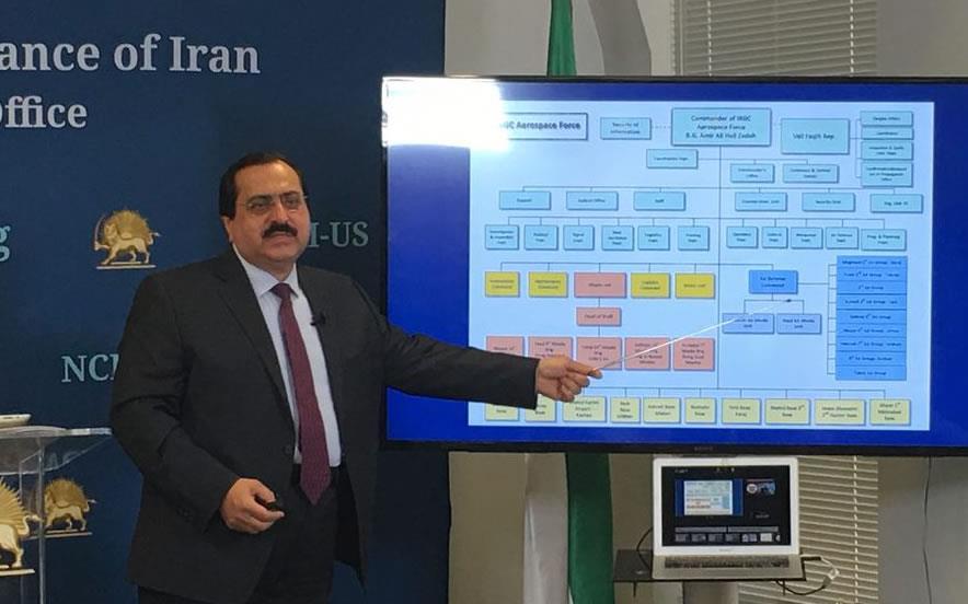 علیرضا جعفرزاده - افشاگری برنامه موشکی رژیم ایران توسط شورای ملی مقاومت