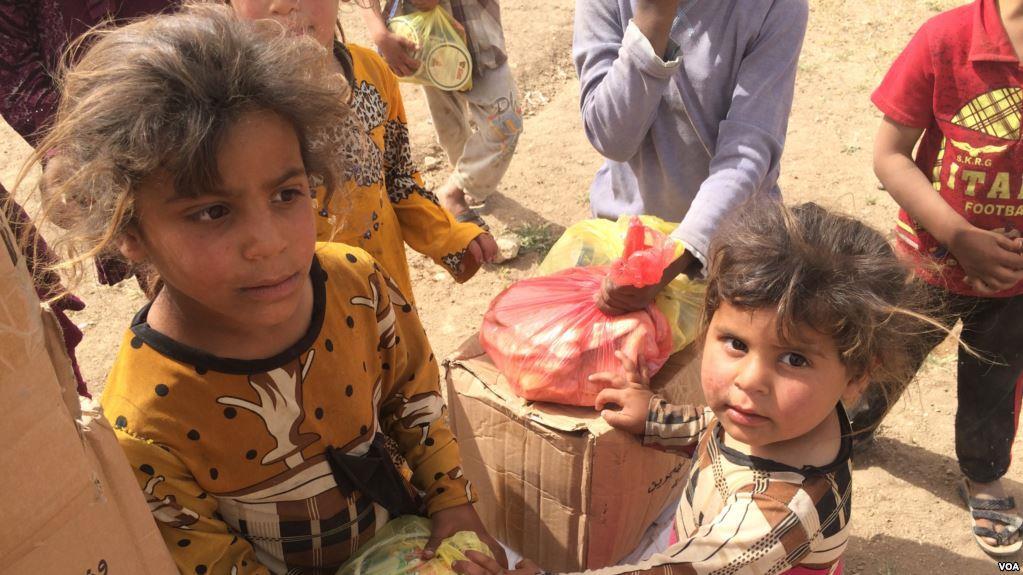 وضعیت خطرناک ۱۰۰هزار کودک در موصل عراق