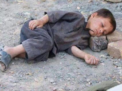 Children in Iran suffer from poverty, where government affiliated elites steel millions of dollars