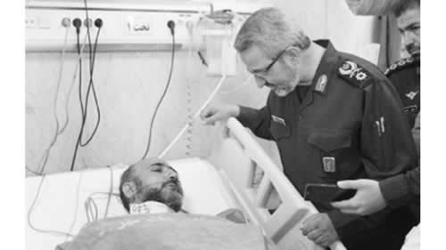 آخوند هرزه ای که مورد حمله یک جوان در متروی تهران قرار گرفت
