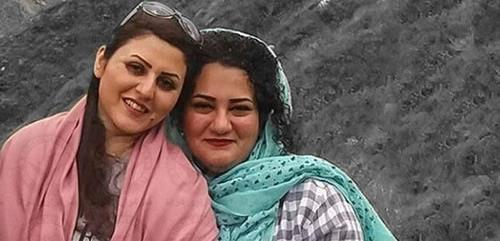 Political prisoners Golrokh Iraee and Atena Daemi