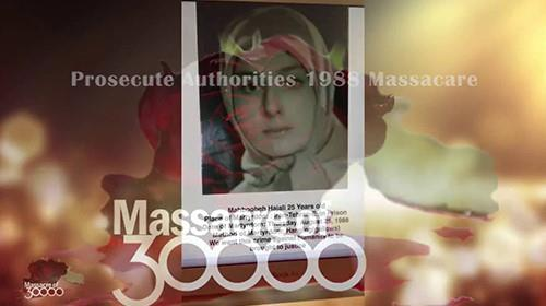 Mass execution of more than 30,000 political prisoners in 1988 in Iran