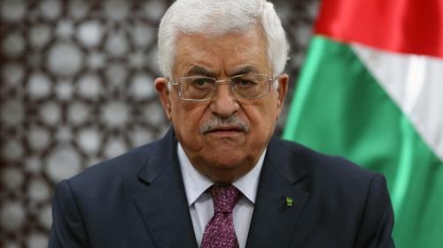 محمود عباس رئیس دولت فلسطین