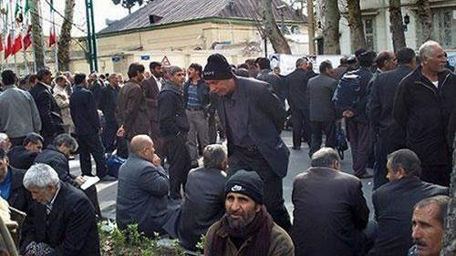 Haft-Tappeh employees' protest