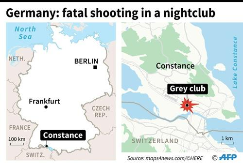 A Kurdish Iraqi man armed with an M16 automatic rifle opened fire in a packed nightclub in southern Germany