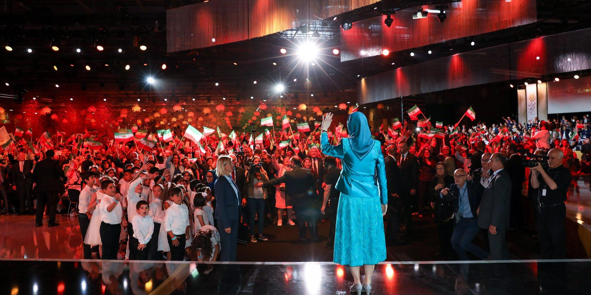 گردهمایی بزرگ مقاومت ایران، پاریس 10تیر 1396 (اول ژوئیه 2017)
