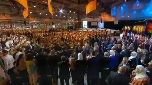 گردهمایی بزرگ ایرانیان در ویلپنت پاریس