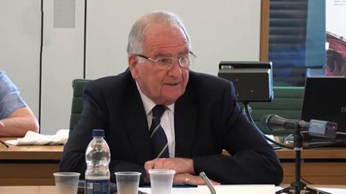 سر راجر گیل، کنفرانس «اقدامات بینالمللی برای اجرای عدالت در مورد قتلعام زندانیان سیاسی سال ۶۷»