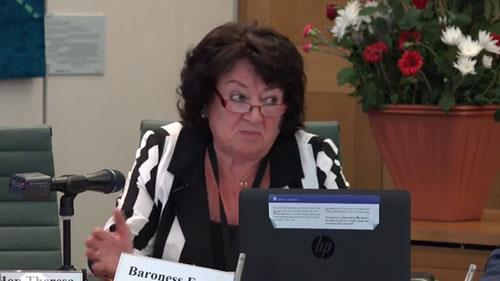 بارونس ایتون، کنفرانس «اقدامات بینالمللی برای اجرای عدالت در مورد قتلعام زندانیان سیاسی سال ۶۷»
