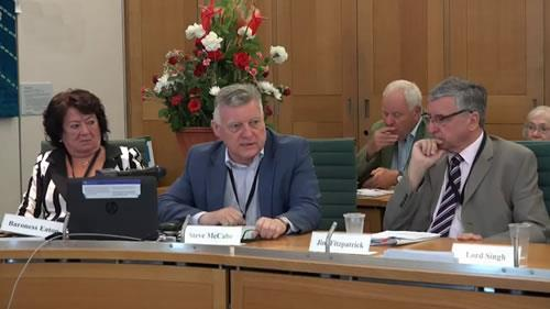استیو مک کیپ، کنفرانس «اقدامات بینالمللی برای اجرای عدالت در مورد قتلعام زندانیان سیاسی سال ۶۷»