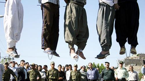 Irans brutal regime has mass executed 13 prisoners in just one day