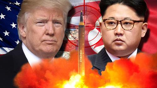 US threatens N. Korea with fire and fury if attacked