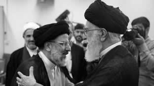 قتل عام ۶۷ – ولی فقیه ارتجاع و جلاد ابراهیم رئیسی از اعضای هیأت مرگ قتل عام ۶۷