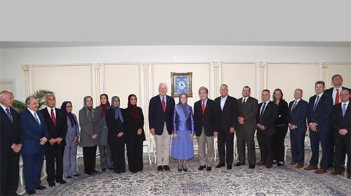 High-ranking U.S. Senate Delegation met the NCRI president, Maryam Rajavi in Tirana