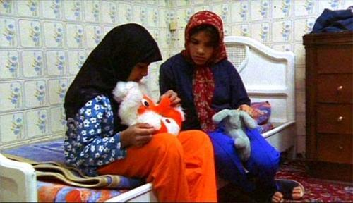 The impact of this on Iranian society is clear and it can be seen in the eyes of the children