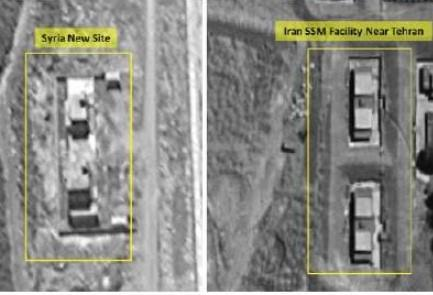 The facilities in Syria (left) and in Iran | Photo credit: ImageSat International (ISI)