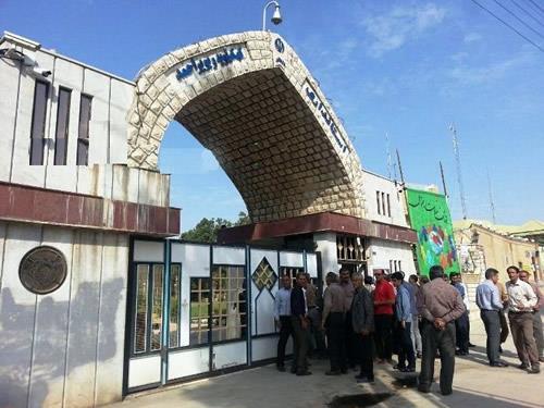تجمع اعتراضی سیل زدگان بیدسردره و گنجگون بویراحمد نسبت به عدم امدادرسانی مقابل استانداری