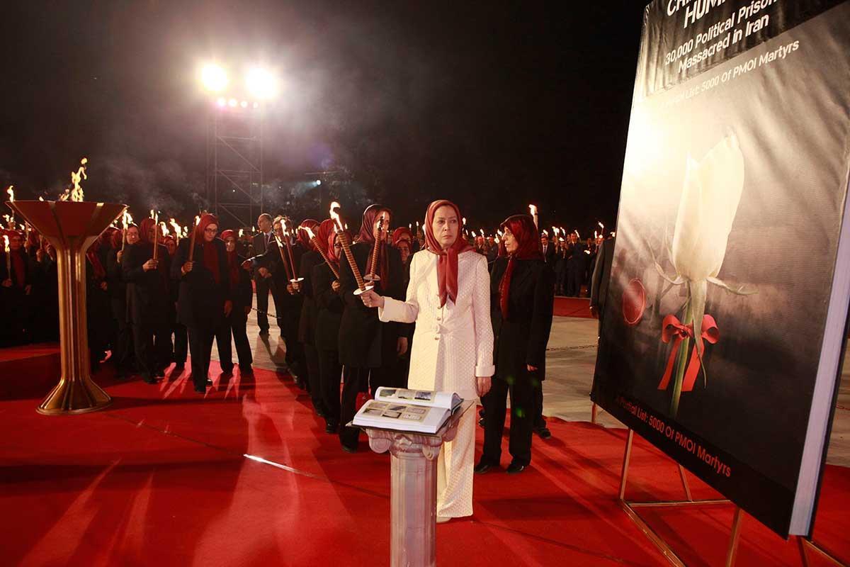 مراسم بیستونهمین سالگرد قتلعام زندانیان سیاسی و نخستین سالگرد جنبش دادخواهی شهیدان قتلعام،