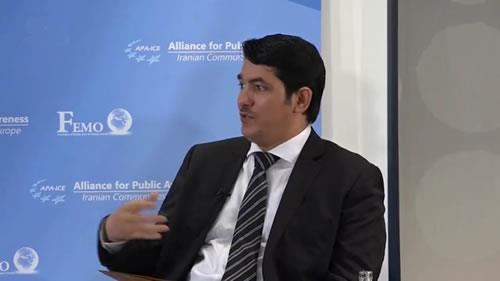 محمد سولامی کنفرانس بینالمللی در آستانهٴ گردهمایی بزرگ مقاومت