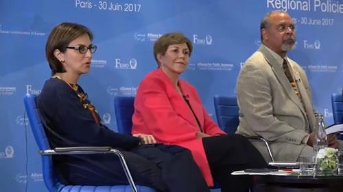 رامش سپهراد، کنفرانس بینالمللی در آستانهٴ گردهمایی بزرگ مقاومت