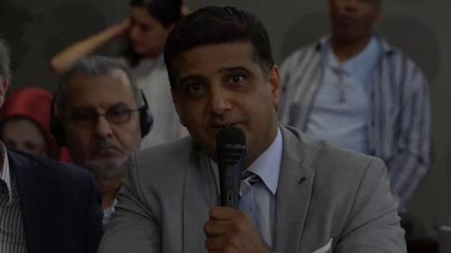 جمال العواضی، کنفرانس بینالمللی در آستانهٴ گردهمایی بزرگ مقاومت
