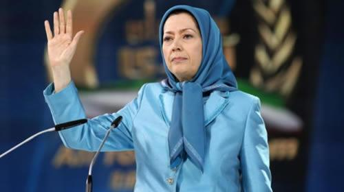 Maryam Rajavi: Iranian Opposition Annual Convention in France Calls for Regime Change in Iran