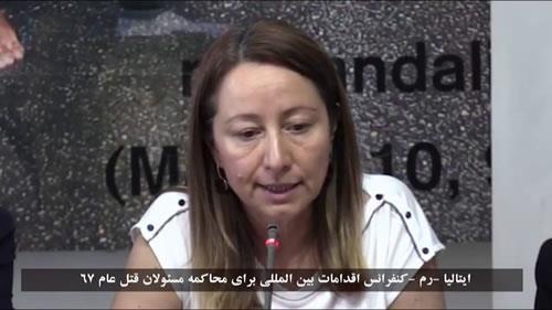 الیزابتا زامپاروتی، حمایت از جنبش دادخواهی شهیدان قتلعام 67