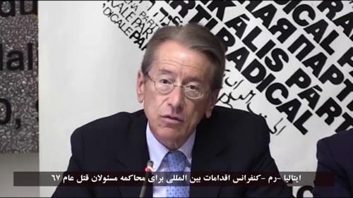 جولیو ترتزی، حمایت از جنبش دادخواهی شهیدان قتلعام 67