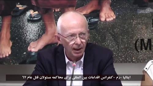 ریکاردو نوری، حمایت از جنبش دادخواهی شهیدان قتلعام 67