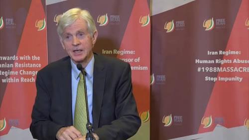 دیوید کیلگور، با مقاومت ایران، تغییر رژیم در دسترس است
