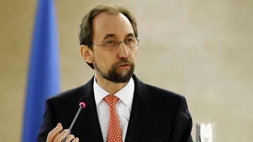 زید رعد الحسین کمیسر عالی حقوقبشر سازمان ملل