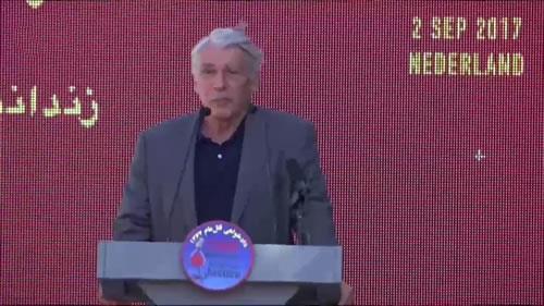 سخنان ژیلبر میتران، تظاهرات در حمایت از جنبش دادخواهی قتلعام ۶۷