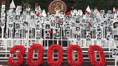 30000 political prisoners massacred in 1988 in Iran