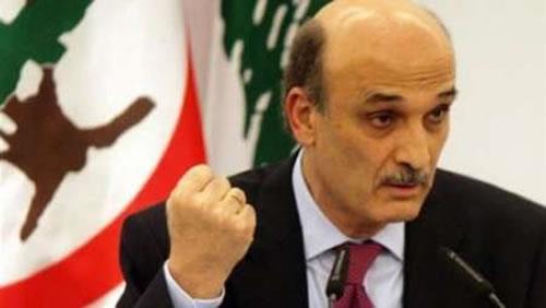 سمیر جعجع رئیس حزب نیروهای لبنانی