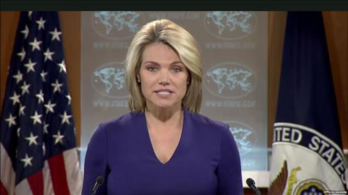 هدر ناورت، سخنگوی وزارت امور خارجه آمریکا