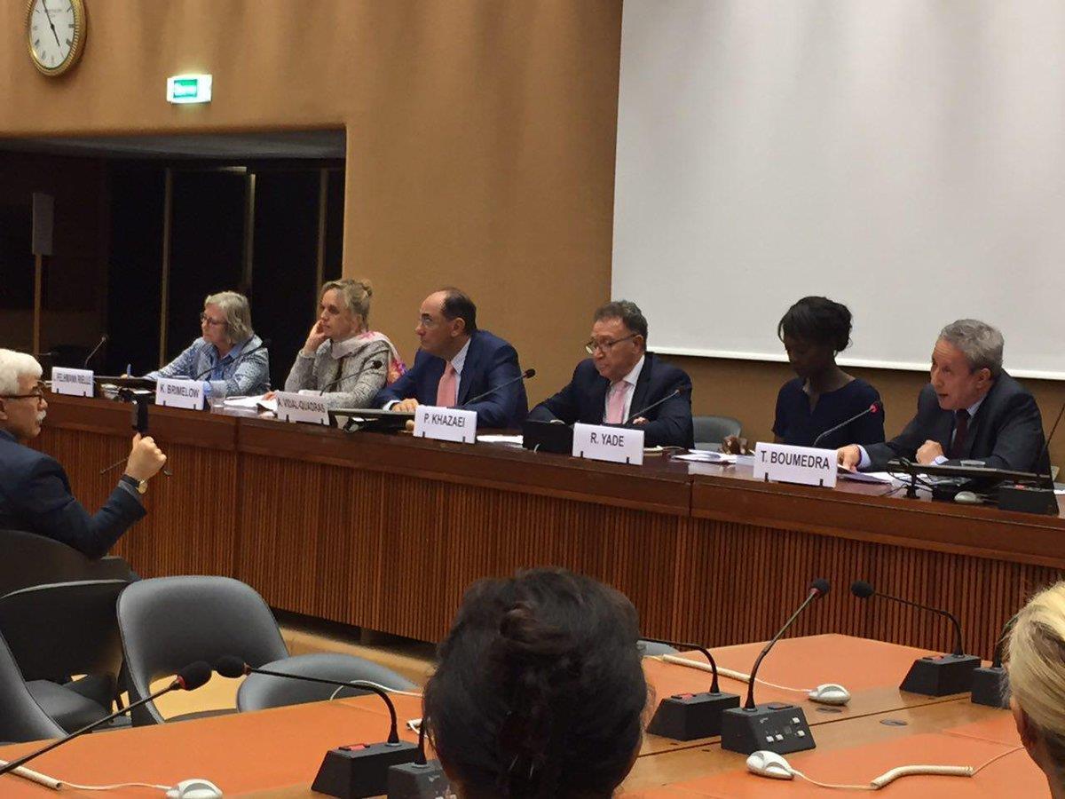 Geneva - U.N. The Conference Explores, 1988 Massacre of Political Prisoners in Iran