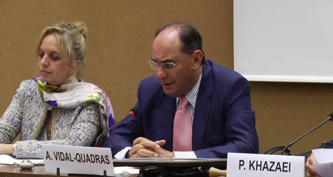 Alejo Vidal-Quadras Roca, a former Spanish Member of the European Parliament