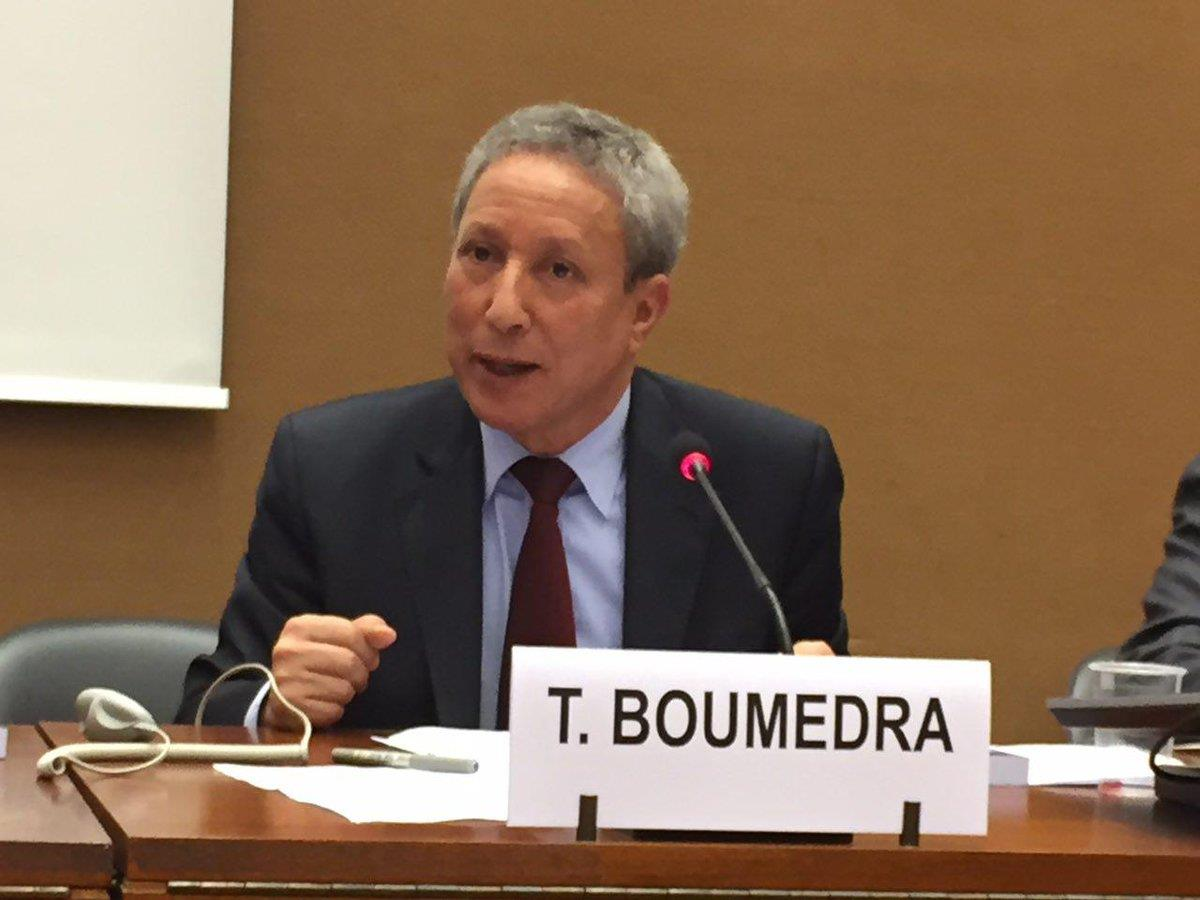 Tahar Boumedra, the former chief of the Human Rights Office of the UN Assistance Mission