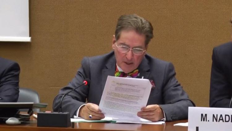 Alfred de Zayas, a United Nations Independent Expert