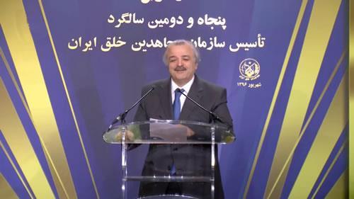 گرامیداشت پنجاه و دومین سالگرد تأسیس سازمان مجاهدین خلق ایران در پاریس
