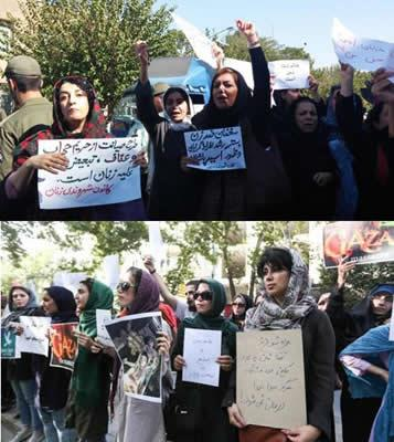 مبارزه زنان ایران ـ لغو قوانین قرونوسطایی و بردهداری علیه زنان در نظام ولایت فقیه