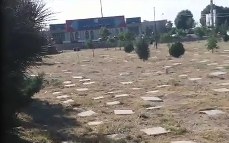 Khavaran Gravesite, where thousands of slain political prisoners are burried in mass graves