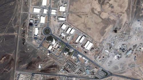 Natanz uranium enrichment facility - Iran . security.blogs.cnn.com