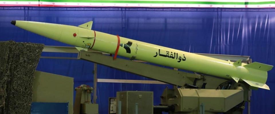 Iranian Ballistic Missile the Zulfiqar