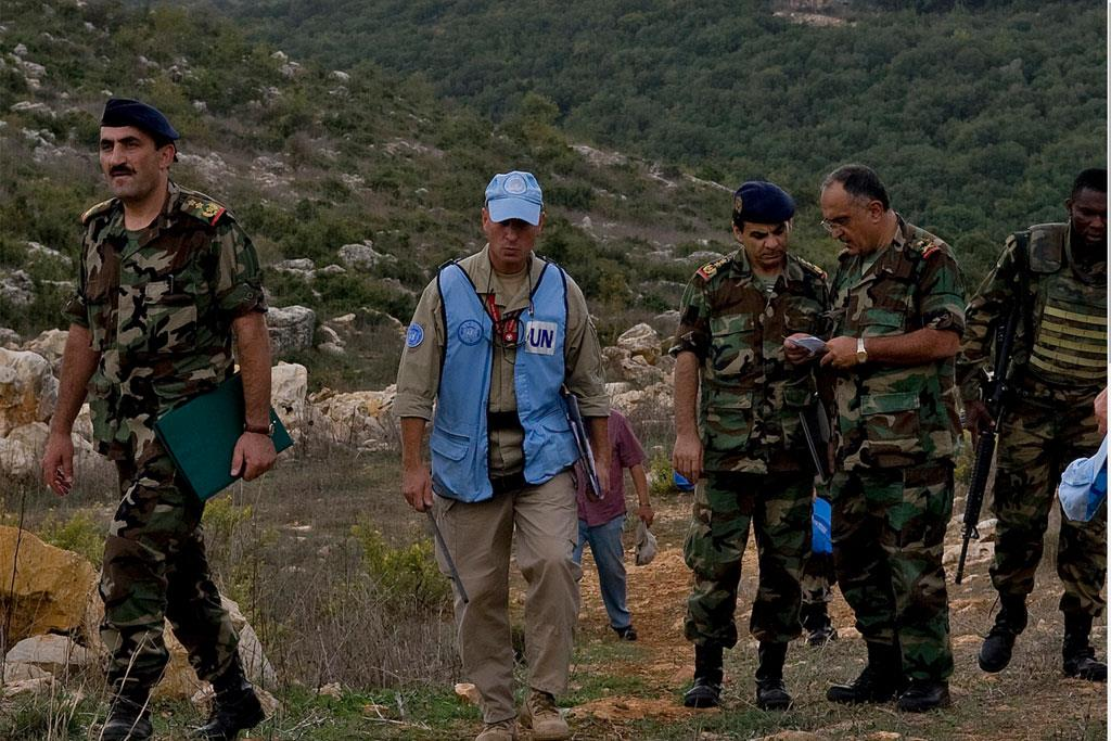 UN peacekeeping mission in Lebanon