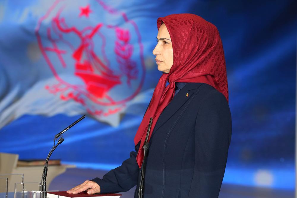 Ms. Zahra Merrikhi, the new PMOI/MEK Secretary General