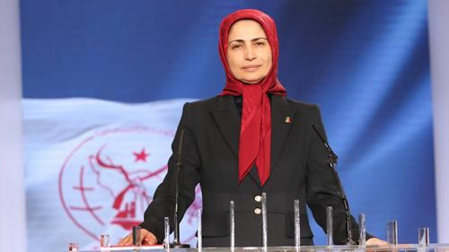 Zahra Merrikhi, the new PMOI Secretary General