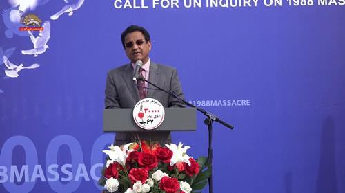پرفسور محمد ال قباتی، تظاهرات در حمایت از جنبش دادخواهی قتلعام ۶۷
